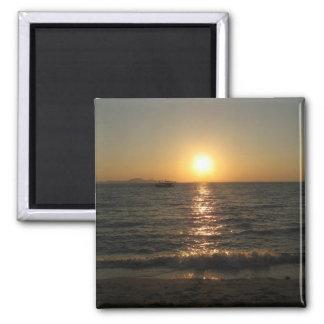 Naklua Beach Sunset ... Chonburi, Thailand Magnet
