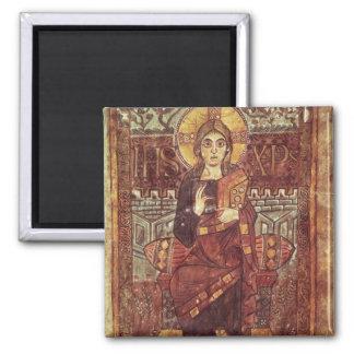 NAL 1203 fol.3 Cristo en majestad, del Godesca Imán De Frigorífico
