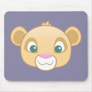 Nala Emoji Mouse Pad