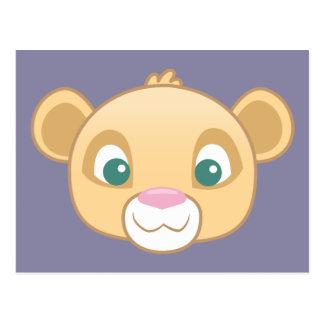 Nala Emoji Postcard