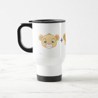 Nala+Simba=Love Travel Mug