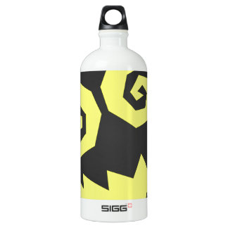 NALGames Insane In The Face Black + Yellow Water Bottle