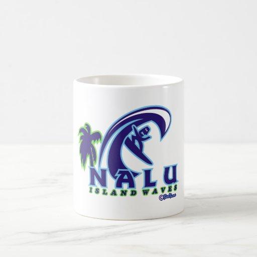 NALU01 Island Waves Product Coffee Mugs