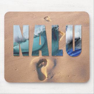 """Nalu hawaiano"" (resaca) Mousepad"