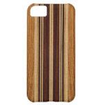 Nalu Lua Faux Koa Wood Surfboard iPhone 5 Cases Case For iPhone 5C