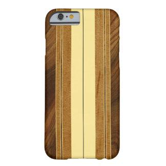 Nalu Mua Faux Koa Wood Surfboard Barely There iPhone 6 Case