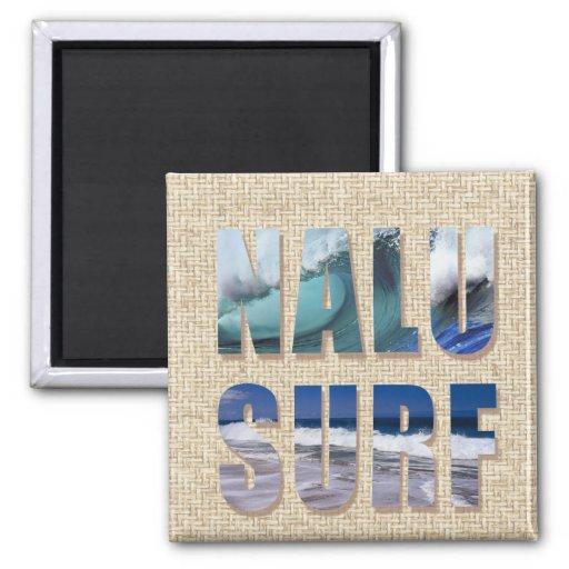Nalu-Surf Island Words Magnet