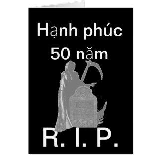 Năm del phúc 50 de Hạnh Tarjeta Pequeña