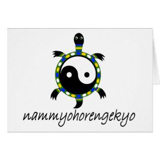 NAM MYOHO RENGE KYO... CARD
