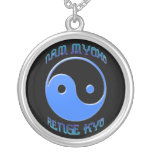 """""""Nam Myoho Renge Kyo"""" collar del Buddhism de Yin y"""