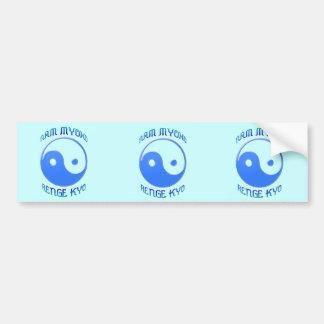 'Nam Myoho Renge Kyo' Yin & Yang Buddhism Bumper Stickers