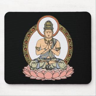 Namaskara Mudra Buddha Mouse Pad