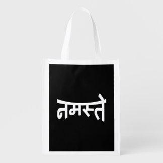 Namaste (नमस्ते) - escritura de Devanagari Bolsa Para La Compra