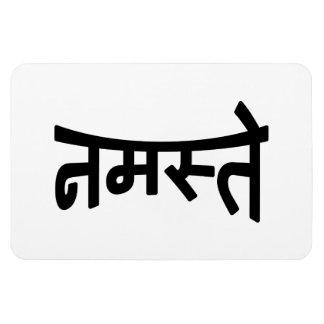 Namaste (नमस्ते) - escritura de Devanagari Imán De Vinilo