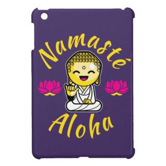 Namaste Aloha hand sign Buddha Humour iPad Mini Cases