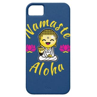 Namaste Aloha hand sign Buddha Humour iPhone SE/5/5s Case