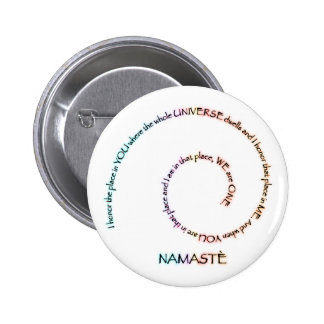 Namaste and its Meaning Pin