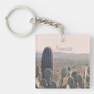 Namaste - Arizona Cacti | Acrylic Key Chain