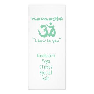 Namaste - arqueo a usted en verde comunicado personal