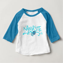 Namaste - Baby Yoga Clothing Baby T-Shirt