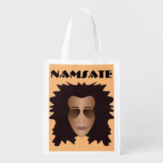 NAMASTE bag Reusable Grocery Bags