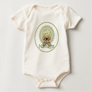 Namaste - bebé de la yoga mameluco
