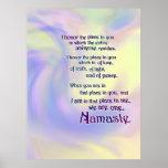 Namaste Blessing Poster