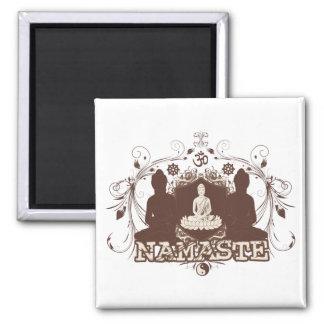 Namaste Buda Imán Cuadrado