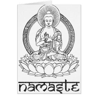 Namaste Buda Felicitacion