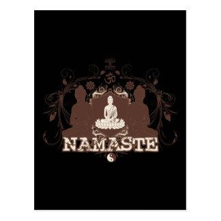 Namaste Buda Tarjetas Postales