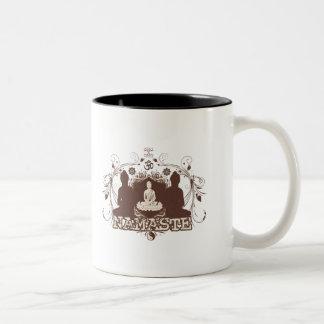 Namaste Buddha Coffee Mugs