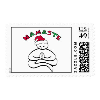 Namaste Buddha Stamps