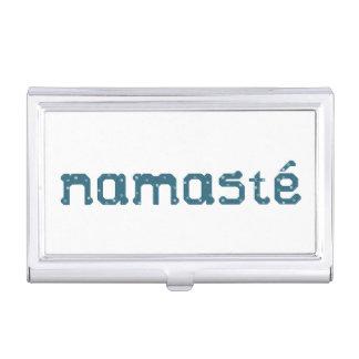 Namaste Business Card Case