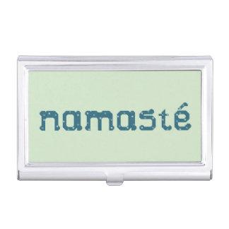 Namaste Business Card Holder
