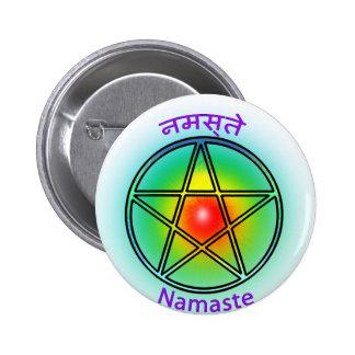 Namaste Pinback Buttons