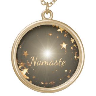 Namaste Collar Dorado