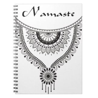 Namaste Collection Spiral Notebook