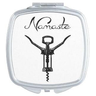 Namaste Compact Mirror