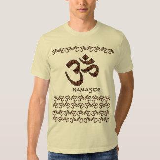Namaste con el símbolo Brown de OM y la crema Playera