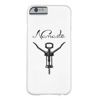 Namaste Corkscrew iPhone Cover