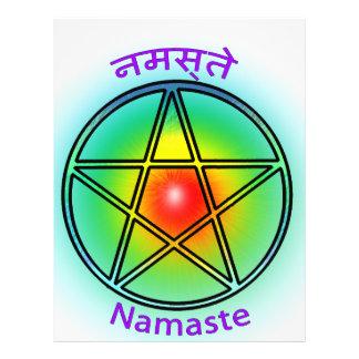 Namaste Custom Flyer