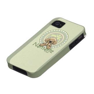 namaste de la yoga - caso del iphone 4s iPhone 4/4S carcasas