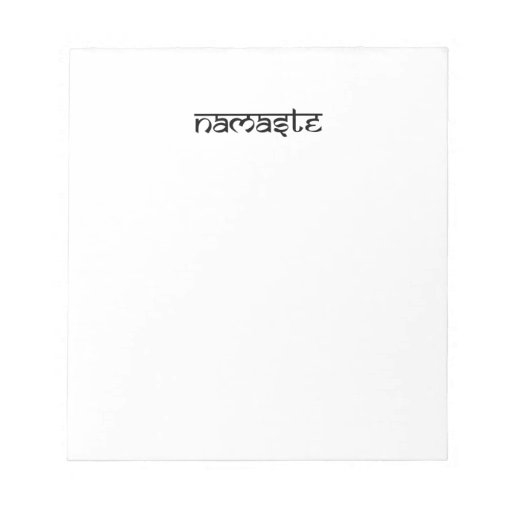 Namaste Design on Sanskrit Style Memo Pads