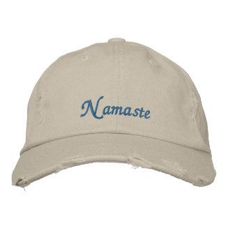 Namaste Distressed Hat
