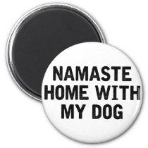 Namaste Dog Magnet