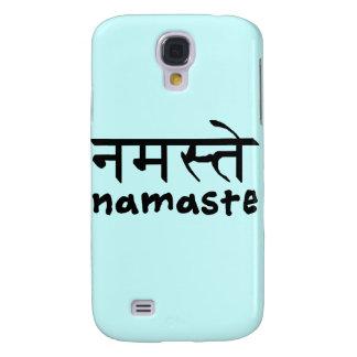 Namaste en inglés e Hindi