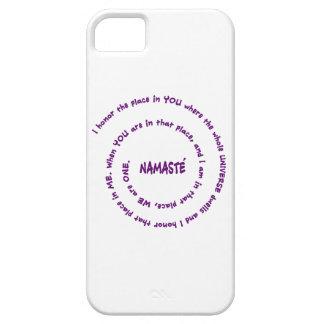 Namaste iPhone 5 Fundas