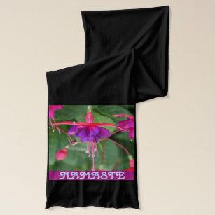 NAMASTE fuschia scarf