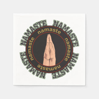 Namaste Hands Paper Napkin