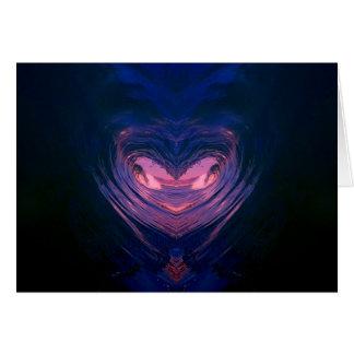 namaste heart collection card